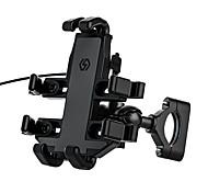 economico -Supporto per cellulare Moto All'aperto Supporto per telefono per bici e moto Porta telefono Tipo di fibbia Regolabili Lega di alluminio Appendini per cellulare iPhone 12 11 Pro Xs Xs Max Xr X 8