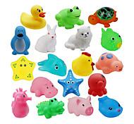 economico -Set da 18 animali da bagno con squirter per bambini piccoli, personaggi colorati assortiti