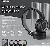 economico -Remax RB-725HB Cuffie auricolari Bluetooth5.0 Design ergonomico Stereo Batteria a lunga durata per Apple Samsung Huawei Xiaomi MI Cellulare