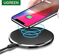 economico -UGREEN 15 W Potenza di uscita USB Caricatore USB Caricabatterie portatile Caricatore senza fili Ricarica veloce Wireless portatile Per Cellulari