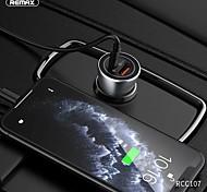 economico -Remax 36 W Potenza di uscita USB USB C Caricatore PD Presa per caricabatteria USB per auto Caricatore veloce Caricabatterie portatile Per iPad Cellulari