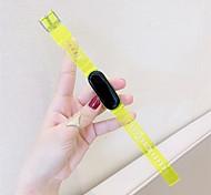 economico -Cinturino intelligente per Xiaomi 1 pcs Cinturino sportivo TPE Sostituzione Custodia con cinturino a strappo per Xiaomi Band 5