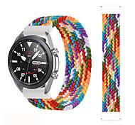economico -Cinturino intelligente per Samsung Galaxy 1 pcs Fascia elastica Tessuto Sostituzione Custodia con cinturino a strappo per Galaxy Watch 3 41 mm 20 millimetri 22mm