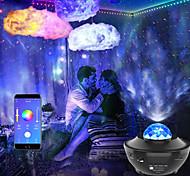 economico -luci di striscia led sincronizzazione musicale 2x7.5m con cielo stellato proiettore luce sogno nuvola soffitto lampada a sospensione combinazione 50ft colore che cambia 5050 rgb strisce luminose led app bluetooth integrata controllata