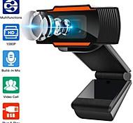 economico -webcam 1080p full hd web camera microfono incorporato spina usb ruotabile web cam per pc computer desktop mac laptop