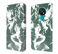 economico -telefono Custodia Per Nokia Integrale Nokia 5.3 Nokia 6.2 A portafoglio Porta-carte di credito Resistente agli urti Pop art pelle sintetica