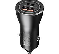 economico -Remax 36 W Potenza di uscita USB USB C Caricatore PD Presa per caricabatteria USB per auto Per iPad Cellulari