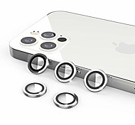 economico -[Confezione da 5] Uniqueme compatibile con iPhone 12 Pro Protezione per obiettivo della fotocamera da 6,1 pollici Protezione della copertura della fotocamera [Installazione semplice][Antigraffio] [Si