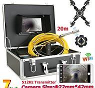 economico -Outlet di fabbrica F927WFTX-20M/30M/40M/50M Endoscopio digitale per fotocamera industriale 1 mp Portatile Luce LED A mano IP68 impermeabile Tubatura 50M