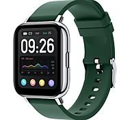 economico -P32 Intelligente Guarda IP68 Monitoraggio frequenza cardiaca Misurazione della pressione sanguigna Sportivo Pedometro Avviso di chiamata Promemoria sedentario Cassa dell'orologio da 31,5 mm per