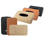 economico -organizer per auto scatola di fazzoletti in pelle per motori generali / motori generali universali