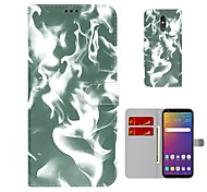 economico -telefono Custodia Per LG Integrale K52 LG Stylo 5 K42 K71 Q52 K62 LG Q60 LG K50 LG K51 K41S e protezione per lo schermo A portafoglio Porta-carte di credito Effetto marmo pelle sintetica