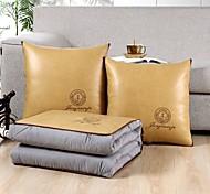 economico -cuscino trapunta multifunzione luce lusso puro colore ricamato 2 in 1 cuscino per pisolino auto cuscino ufficio cuscino pisolino coperta pieghevole divano cuscino aria condizionata trapunta