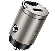 economico -Remax 18 W Potenza di uscita USB Presa per caricabatteria USB per auto Per iPad Cellulari