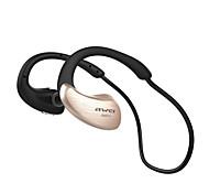 economico -AWEI A885BL Cuffia per archetto Bluetooth4.1 Design ergonomico Stereo Dotato di microfono per Apple Samsung Huawei Xiaomi MI Uso quotidiano Viaggi All'aperto Cellulare