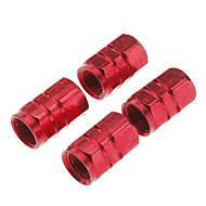 povoljno -auto gume ventili ukrašavanje kapica (miješanih boja ,4-komada)