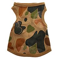ieftine -Regiunea muntoasă camuflaj model pur Vest bumbac pentru câini (XS-L)