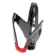 Bike Water Bottle Cage Carbon Fiber Lightweight Durable Easy to Install For Cycling Bicycle Road Bike Mountain Bike MTB Carbon Fiber Black