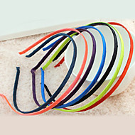 ieftine -Pentru femei Cordeluțe Pentru Zilnic Material Textil Aliaj Mov Rosu Portocaliu / Bijuterii de Păr