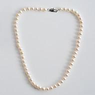 رخيصةأون -نسائي قلادة السواحل اللؤلؤ قلادة مجوهرات من أجل مناسب للبس اليومي