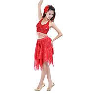 رخيصةأون -رقص شرقي الالتفاف نسائي التدريب بوليستر شىء صغير براق الالتفاف / الأداء / قاعة رقص