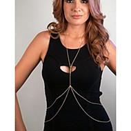 ieftine -Lanț de Talie Corp lanț / burtă lanț Design Unic European stil minimalist Pentru femei Bijuterii de corp Pentru Zilnic Casual Aliaj Auriu Argintiu