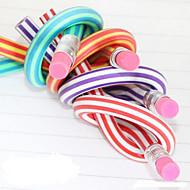Blyant Pen Blyanter Pen, Gummi Sort Blæk Farver For Skoleartikler Kontorartikler Pakke med