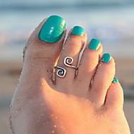 ieftine -Inel pentru degetul de la picior femei Design Unic Modă Pentru femei Bijuterii de corp Pentru Cadouri de Crăciun Zilnic Aliaj Argintiu