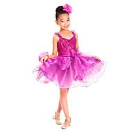 رخيصةأون -اطفال ملابس الرقص الفساتين التدريب سباندكس ترتر / كشاكش بدون كم ارتفاع متوسط / باليه / الأداء / قاعة رقص