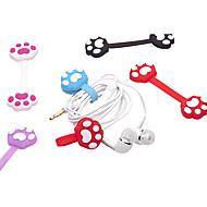 Lijep crtani mačka pandža oblik namatanje žice