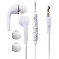 In Ear Wired Headphones Plastic Mobile Phone Earphone with Volume Control / with Microphone / Noise-isolating Headset