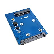 "ieftine -Tipul de subțire mini PCI-E mSATA SSD la 2.5 ""SATA HDD adaptor 3.0 22pin hard disk PCBA"