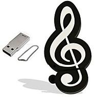 8GB محرك فلاش USB قرص أوسب USB 2.0 بلاستيك أدوات الموسيقى كرتون
