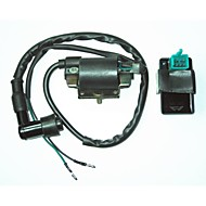 Universal Ignition Coil + 5 Pin AC CDI Box For Honda Dirt Pit Bike 110CC