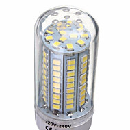 1 개 6 W 500 lm E14 / G9 / GU10 LED 콘 조명 T 102 LED 비즈 SMD 2835 장식 따뜻한 화이트 / 차가운 화이트 220-240 V / 1개 / RoHS 규제