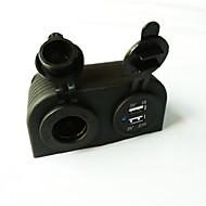 povoljno -5v 3.1a auto punjač dvije rupe ploča s dual usb porta upaljač za kamion automobila auto utičnica