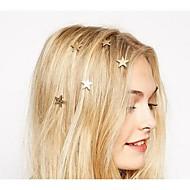 ieftine -Pentru femei Ac de păr spirala Pentru Petrecere Zilnic Casual Aliaj Auriu