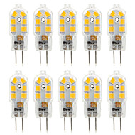 ywxlight® 10pcs 2.5w 300lm g4 14led 2835smd luces led bi-pin blanco cálido blanco frío blanco natural bombilla ac 220-240 dc 12 v