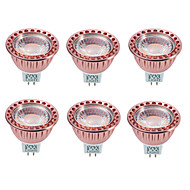 povoljno -YWXLIGHT® 6kom 8 W LED reflektori 700-850 lm GU5.3(MR16) MR16 1 LED zrnca COB Zatamnjen Ukrasno Toplo bijelo Hladno bijelo 12 V / 6 kom. / RoHs