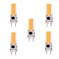 ieftine -ywxlight® 5pcs g8 2508 5w 350-450 lm led bi-pin lumina cald alb rece alb dimmable 360 lumina fascicul luminile lumina reflectoarelor ac 110-130v ac 220-240v