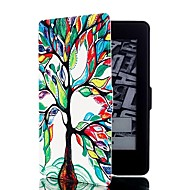 cheap -Case For Kindle / Amazon Kindle PaperWhite 2(2nd Generation, 2013 Release) Full Body Cases Full Body Cases Solid Colored Hard PU Leather