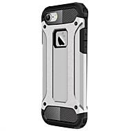 voordelige -hoesje Voor Apple iPhone X / iPhone 8 Plus / iPhone 8 Schokbestendig Achterkant Schild Hard PC