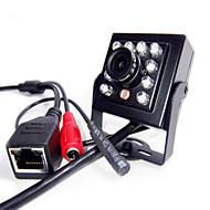 رخيصةأون -720 وعاء صغير ir كاميرا ip داخلي خفية 940nm ir led كاميرا ip الثقب أصغر كاميرا للرؤية الليلية الصوت