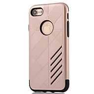 voordelige -hoesje Voor Apple iPhone 8 Plus / iPhone 8 / iPhone 7 Plus Water / Dirt / Shock Proof Achterkant Schild Hard PC