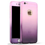 voordelige -hoesje Voor Apple iPhone 8 Plus / iPhone 8 / iPhone 7 Plus Schokbestendig Achterkant Kleurgradatie Hard PC
