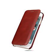 voordelige -hoesje Voor Apple iPhone X / iPhone 8 Plus / iPhone 8 Ultradun Volledig hoesje Effen Hard aitoa nahkaa