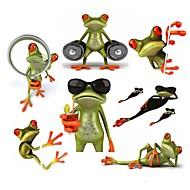 povoljno -ziqiao 3d žabe vodootporan auto naljepnica smiješno Gecko automobili&motocikli decal naljepnica