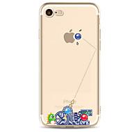 voordelige -hoesje Voor Apple iPhone X / iPhone 8 Plus / iPhone 8 Ultradun / Patroon Achterkant Cartoon / Punk Zacht TPU