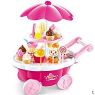 Χαμηλού Κόστους -Παγωτό παιχνίδι καλαθιού Παιχνίδια με τρόφιμα Παιχνίδια ρόλων Φαγητό & Ποτό Παγωτό Γλυκό Ασφαλής για παιδιά Παιδικά Νήπιο Κοριτσίστικα Παιχνίδια Δώρο 39 pcs