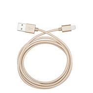 Belysning Kabel / Opladerkabel / Opladerledning Flettet Kabler / Kabel iPad / Apple / iPhone for 100 cm Til Tekstil / Nylon